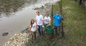 Oyster Reef Replenishing |Rudee Inlet Foundation | Virginia Beach